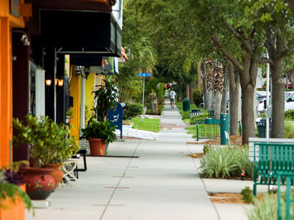 Beach and Shore Boulevards are at the heart of our historic downtown area, situated on scenic Boca Ciega Bay.